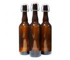 Бутылка пивная с бугельной пробкой 0,75  л