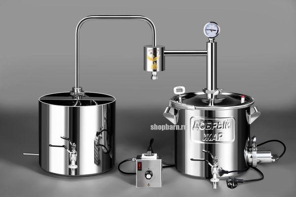 Дачный самогонный аппарат Добрый Жар 15 литров